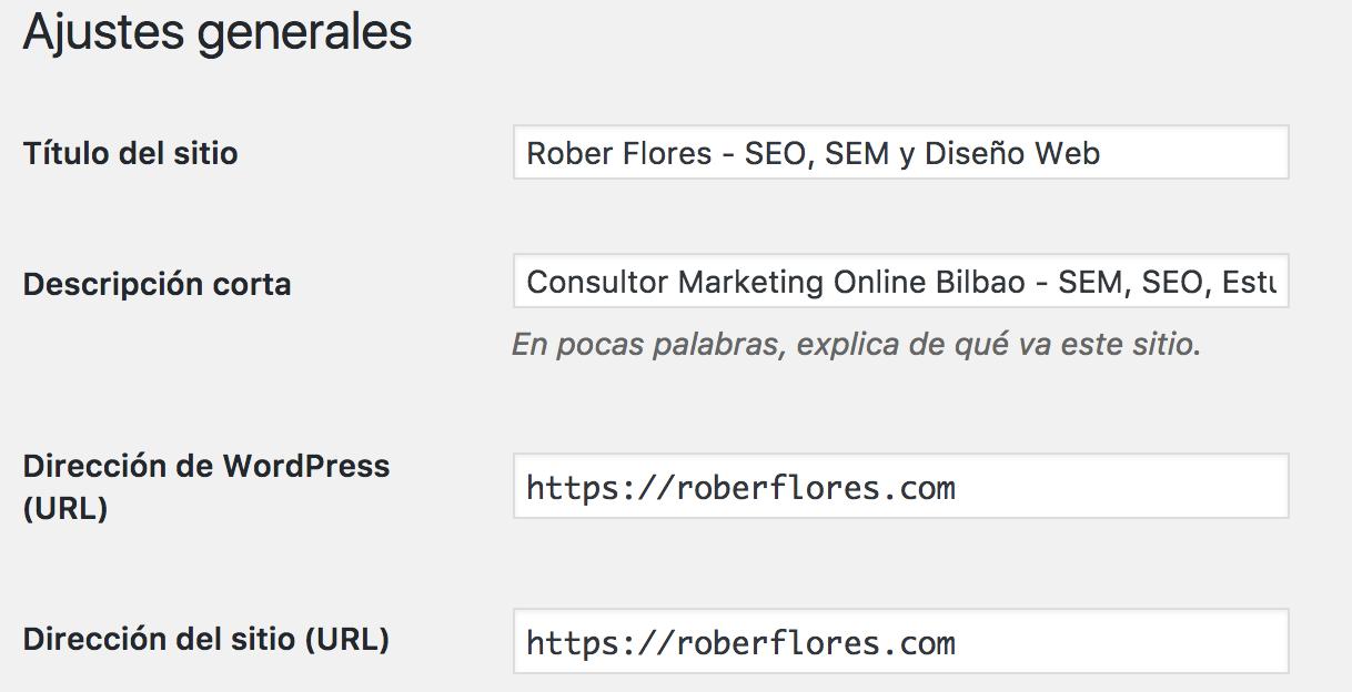 cambiar de http a htpps en wordpress