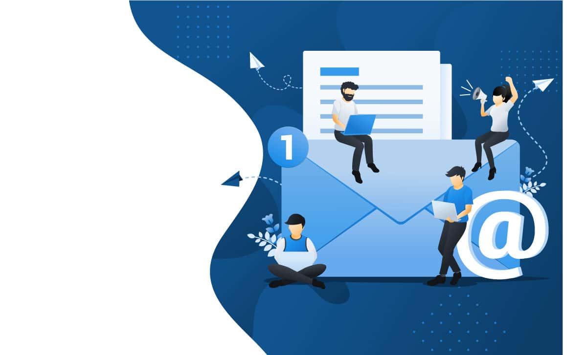 comparativa de número de cuentas mail en el hosting