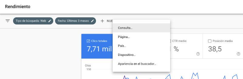 detectar canibalización SEO desde Google Search Console