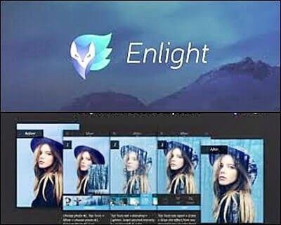 editor de fotos enlight