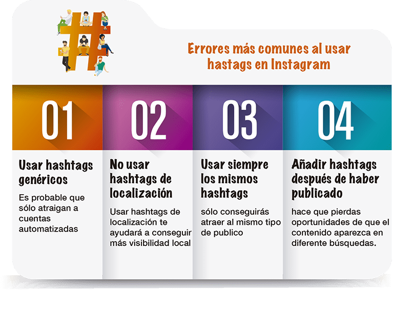 errores al usar hastags en instagram