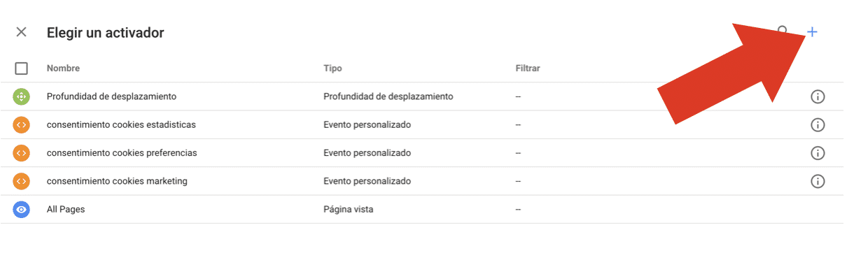 Cómo crear un evento de scroll en Google Tag Manager 12