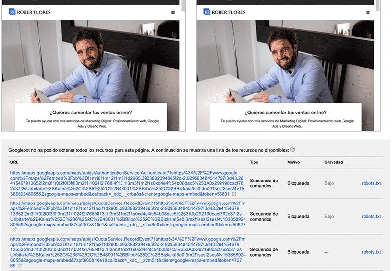 explorar como google robots.txt